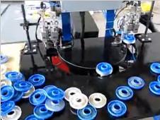 水过滤器自动喷胶应用